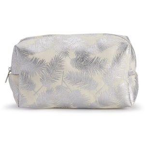 LC Lauren Conrad Palm Print Cosmetic Bag